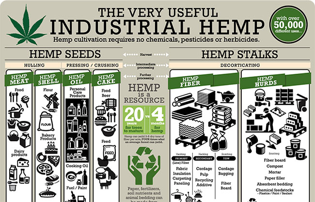 Cannopy Corporation Hemp Industrial Uses
